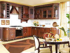 1004Kitchen from solid alder wood T307/113