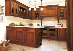 1005Kitchen from solid alder wood T314K/113