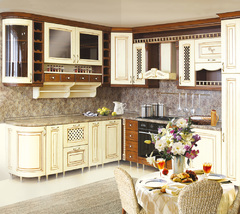 1006Kitchen from solid ash wood T511/112