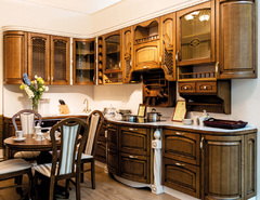 1007Kitchen from solid ash wood T512/102