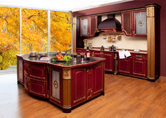 1008Kitchen from solid ash wood T512/116