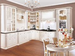 1009Kitchen from solid ash wood T512/118