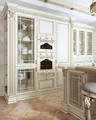 1001Kitchen from solid ash wood «Artvud»